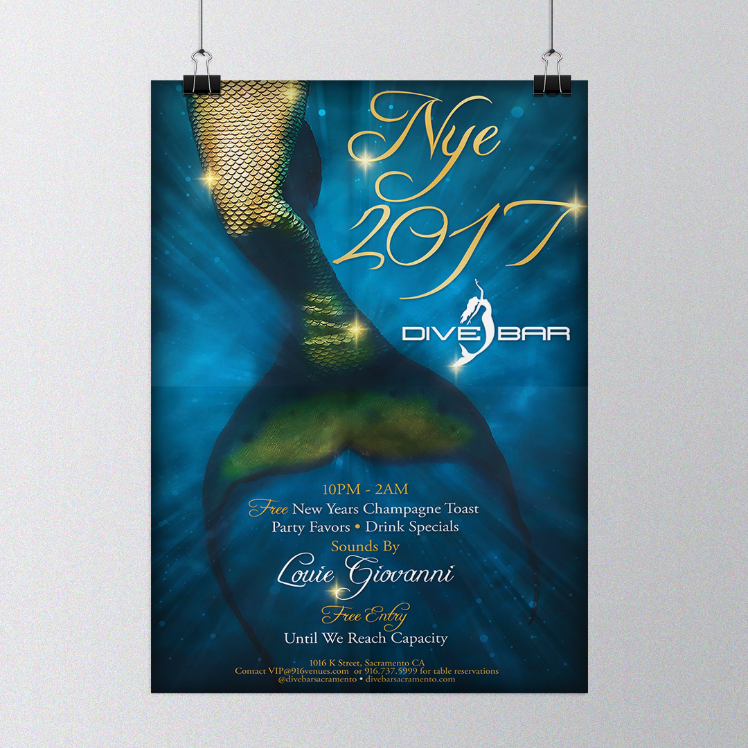 Mermaid Poster Design