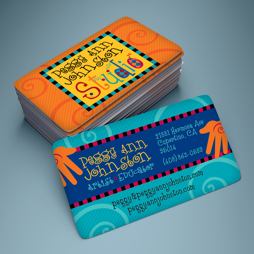 Artist Studio Business Card Design