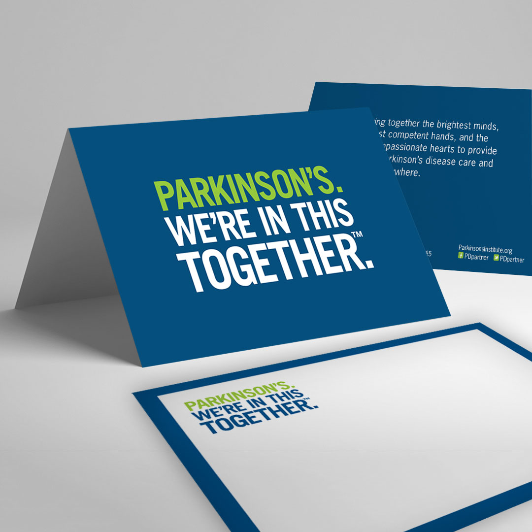 Parkinson's Non-Profit Invitation Brand Branding Flyer Design