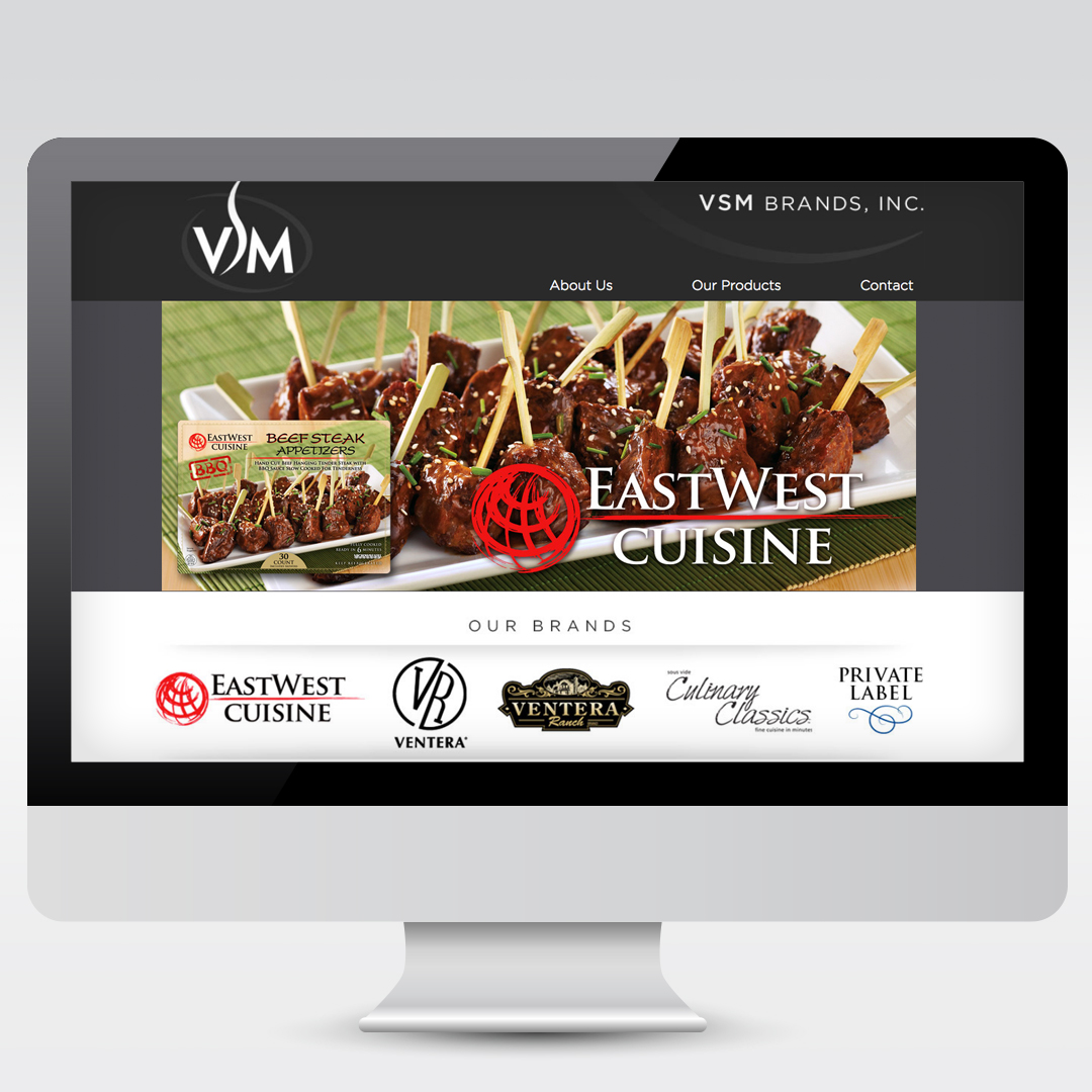 Food Brand Branding Website Development Web Design