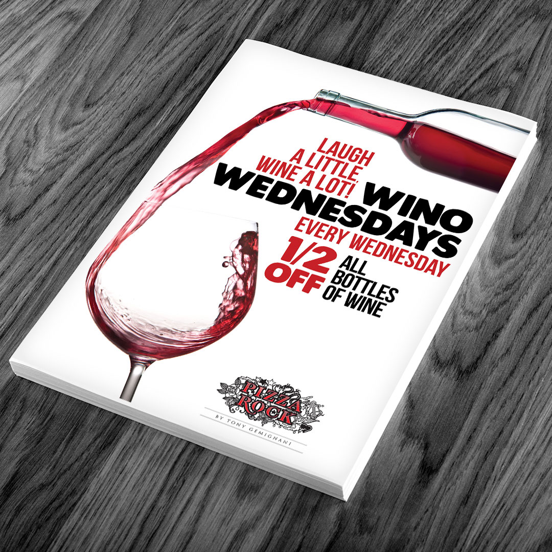 Wine Flyer Design