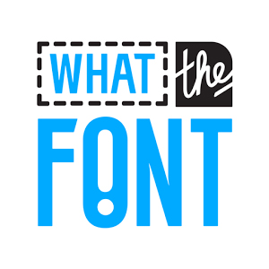 What The Font logo - our favorite font identifying app