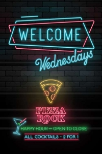 Welcome Wednesdays Poster Design