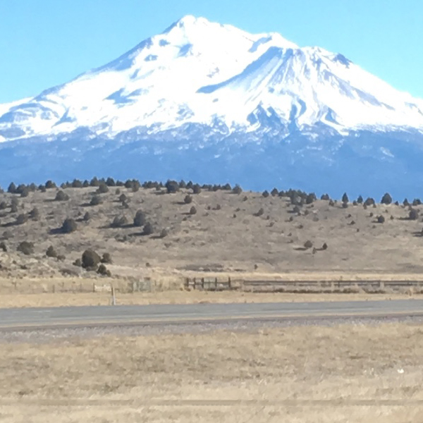 Image of Mt. Shasta taken from my car to be used as example for color palette generator.