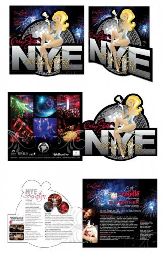 DIecut Club Flyer Ruby Skye San Francisco