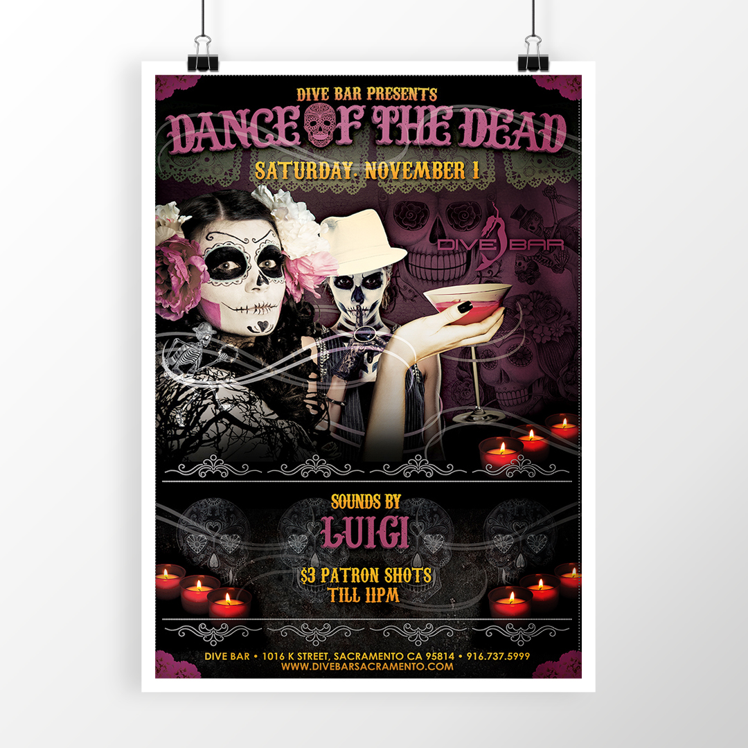 Day of Dead Poster Design