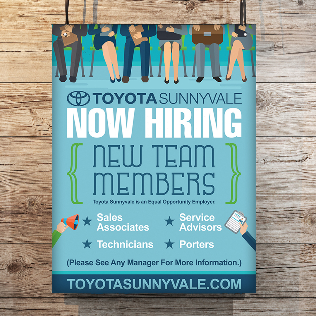 Automotive Hiring Poster Design