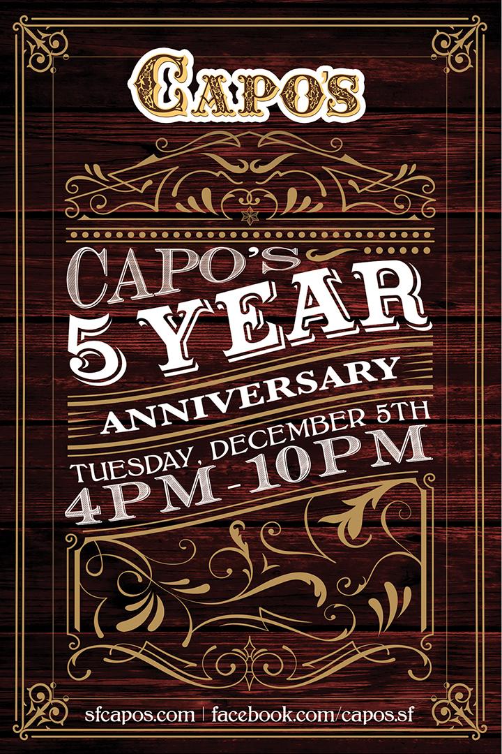 Anniversary Poster Design