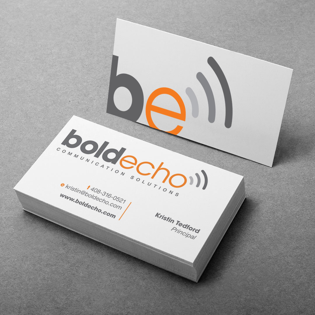Public Speaking Presentation Marketing Business Card Design