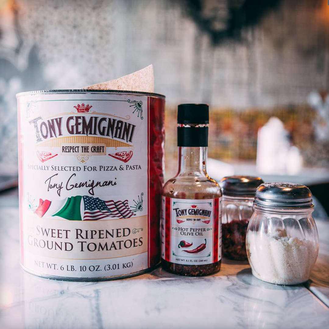 Tony Gemignani Restaurant Package Branding Brand Design