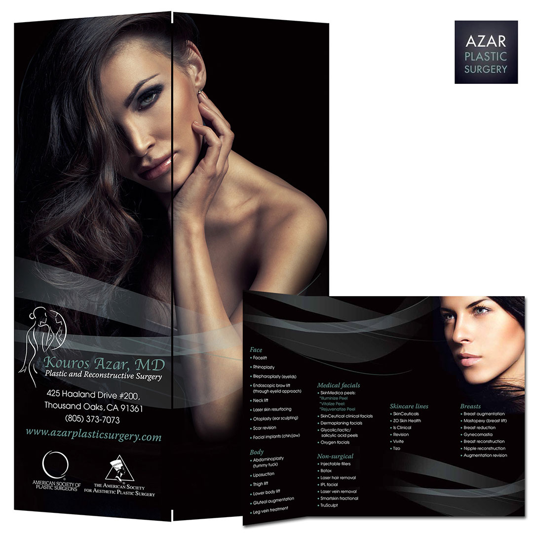 Plastic Surgery Surgeon Brochure Design