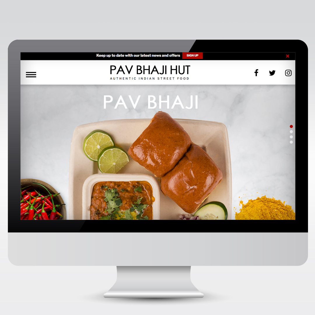 Restaurant Website Development Web Design