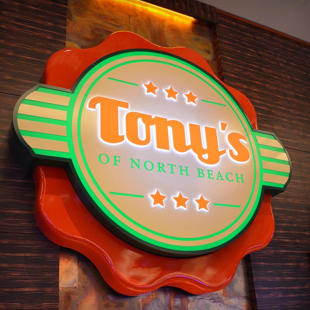 Tony Gemignani Restaurant Logo Brand Branding Design Sign