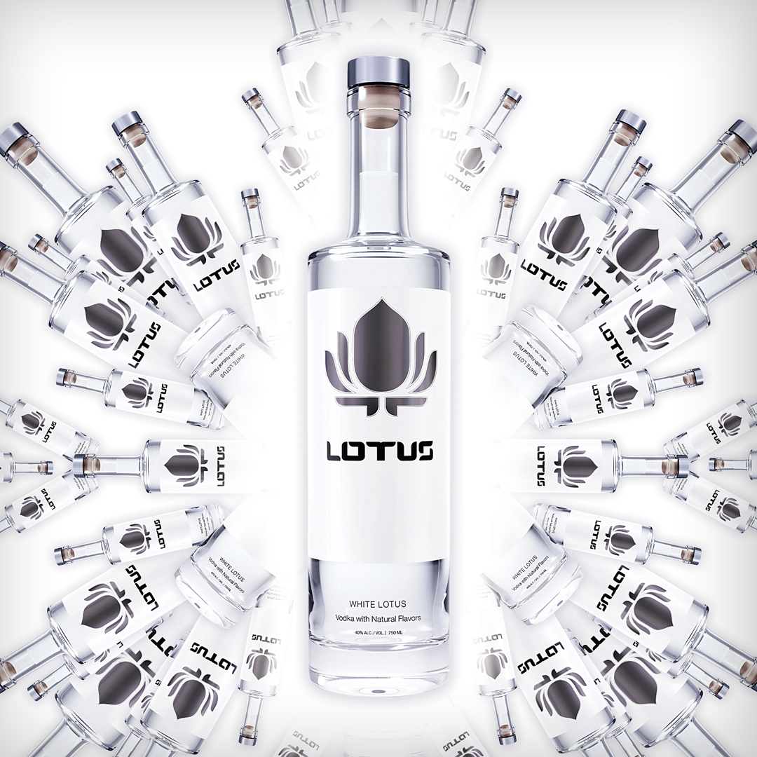 Lotus Vodka Brand Branding Distributor Ad Design