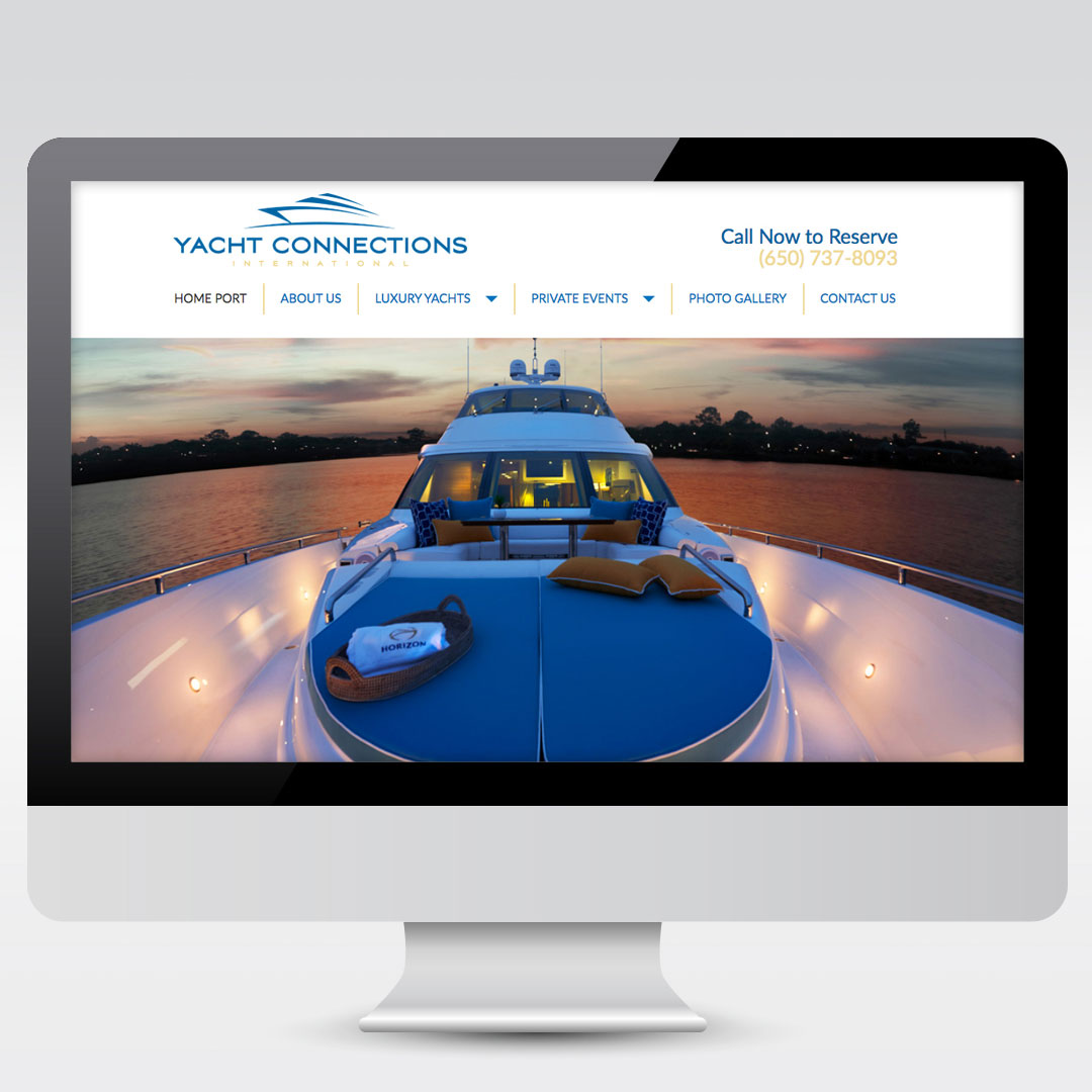 YCI Yacht Charter Yachting Yachting Website Development Web Design