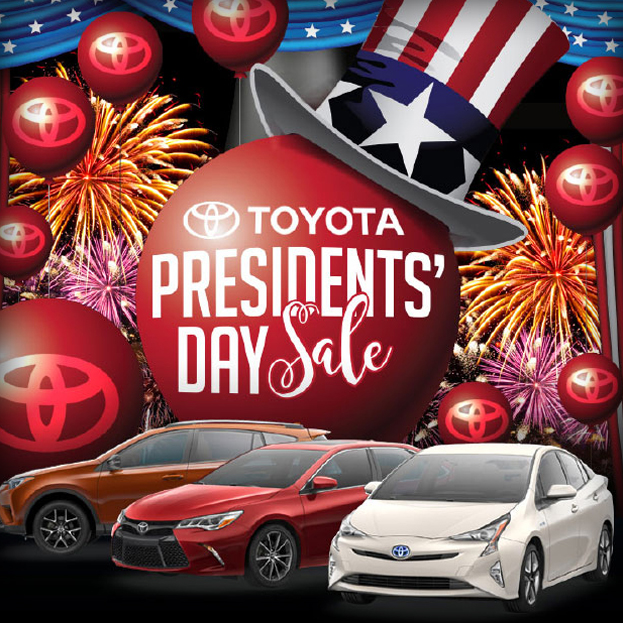 Toyota Car Auto Automotive Dealership Cars Dealer President's Day Promo Promotion