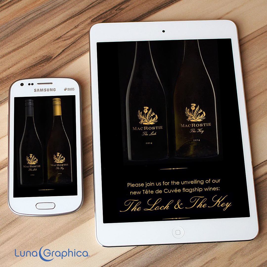 Winery Constant Contact Email Template