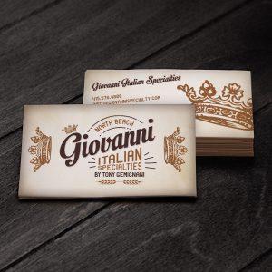 Giovanni Specialties Logo