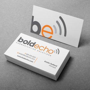 Bold Echo Logo Example