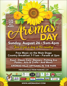 Aroma Days Poster