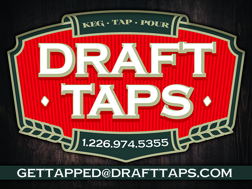 Draft Taps Car Magnet