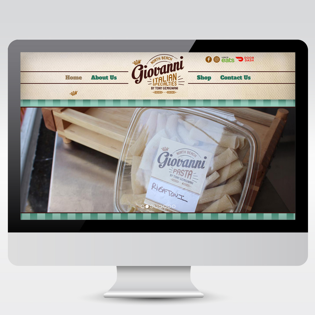 Retail Specialties Store Development Web Design