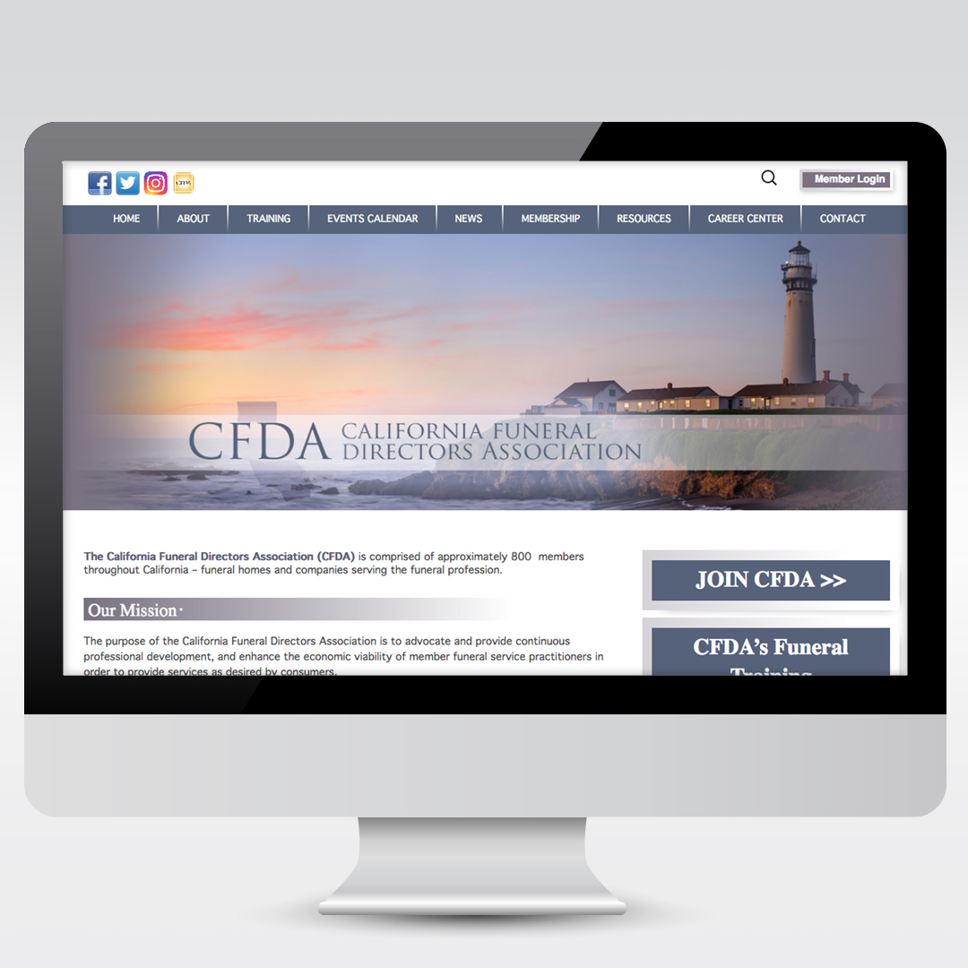 California Funeral Directors Association Website