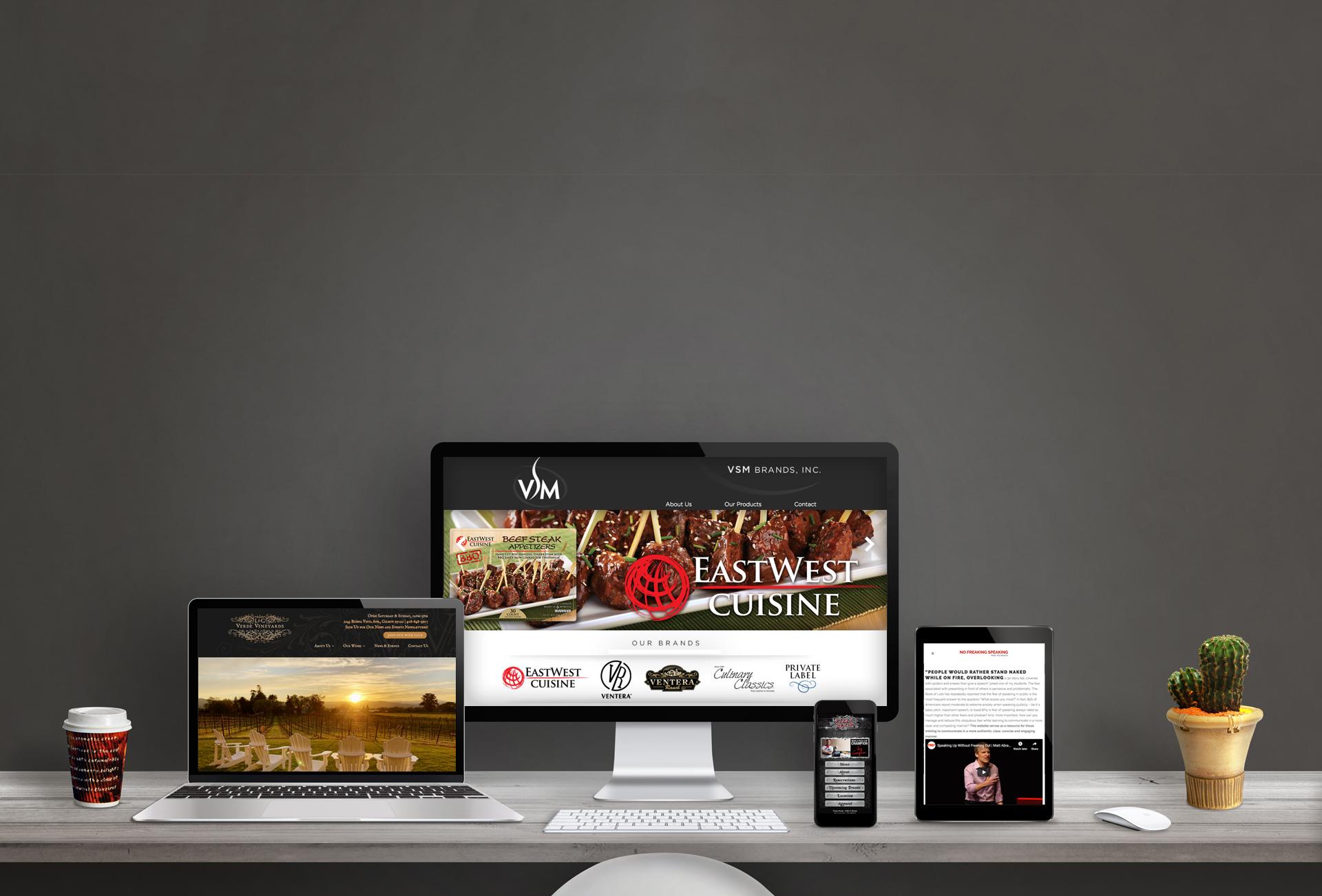 LunaGraphica's Websites Slide
