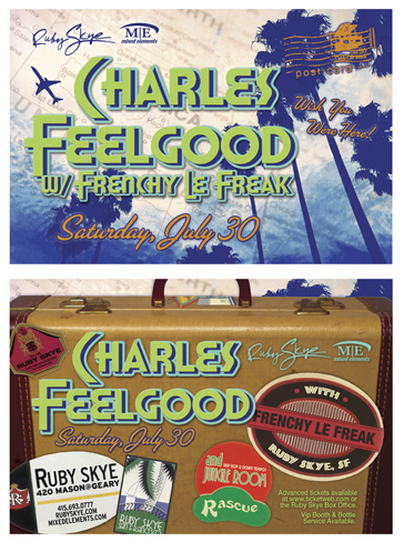 Charles Feelgood Ruby Skye Flyer