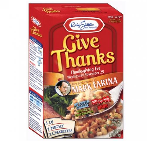 Thanksgiving Diecut Flyer LunaGraphica